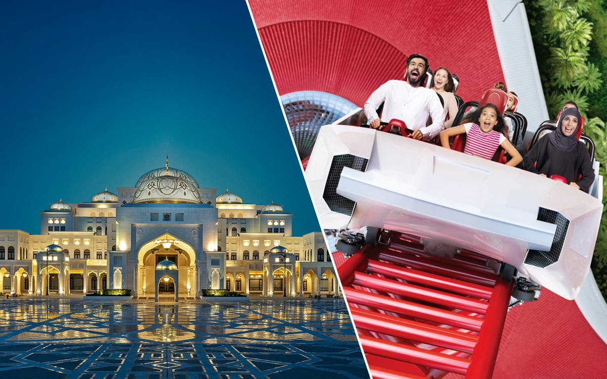 qasr al watan + ferrari world, yas waterworld & warner bros. world-1