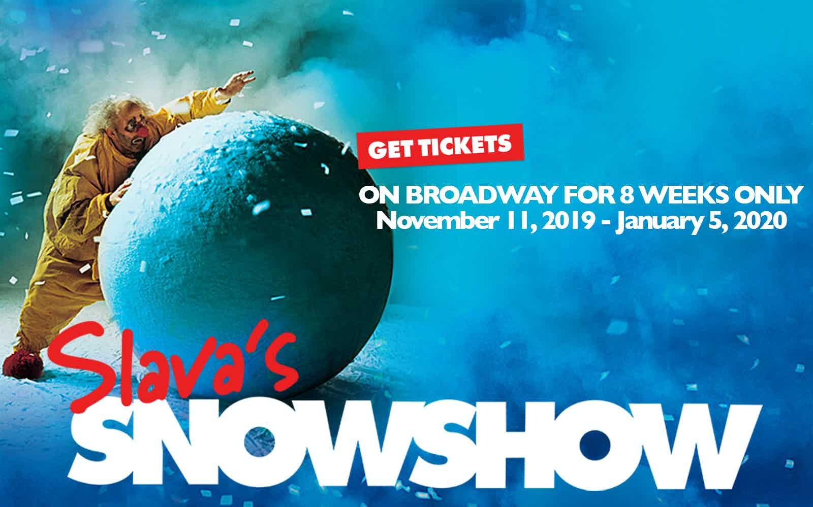 Slava's Snowshow on Broadway