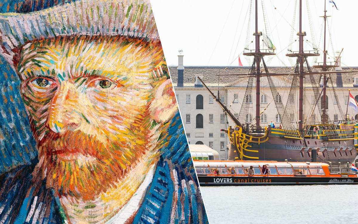 skip the line van gogh tickets & optional canal cruise-1
