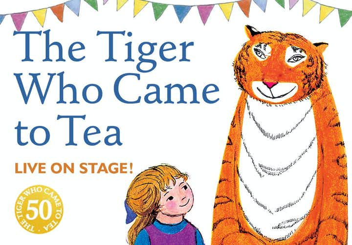 Best West End Shows - The Tiger Who Came To Tea