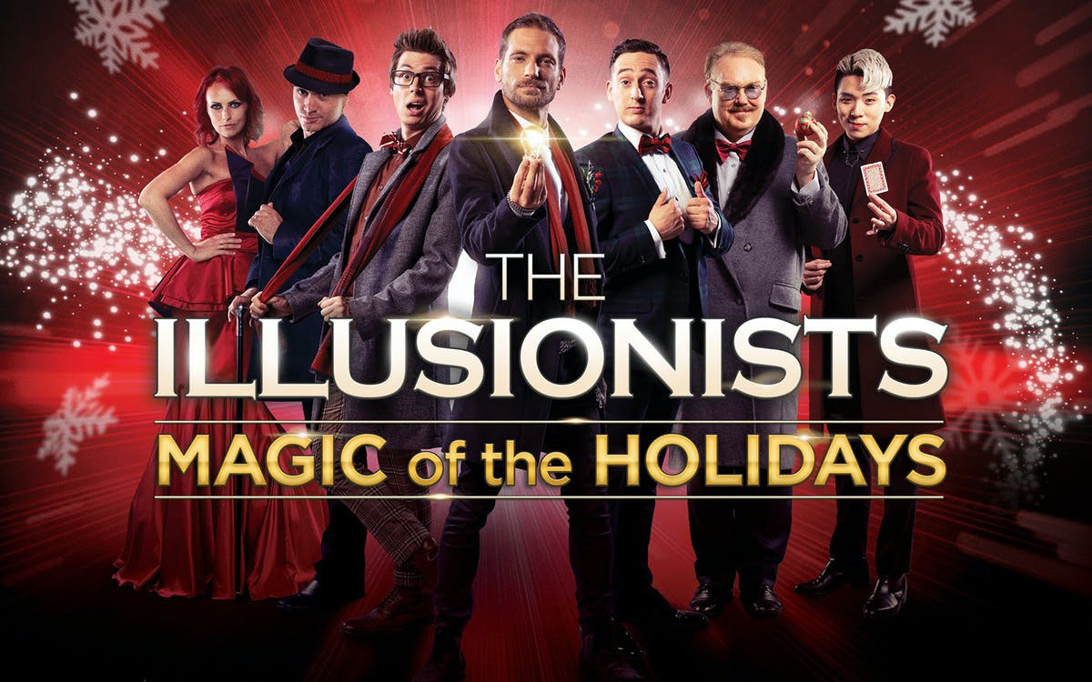 the illusionists – magic of the holidays-1