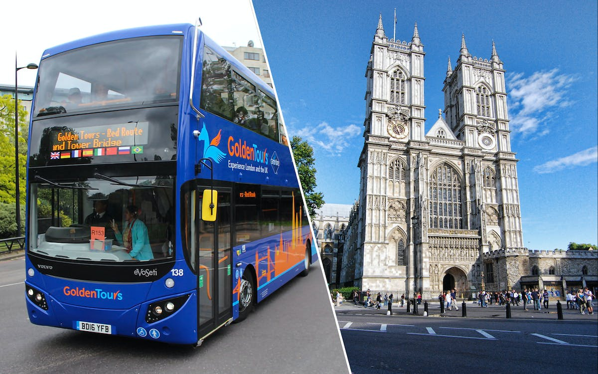 golden tours 24hrs london hop on hop off & westminster abbey tickets-1