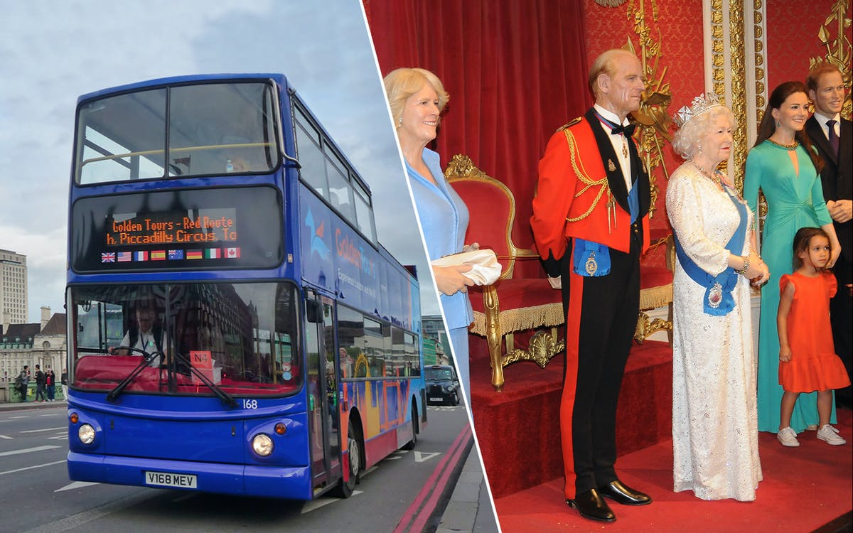 golden tours 24hrs london hop on hop off & madame tussauds ticket-1