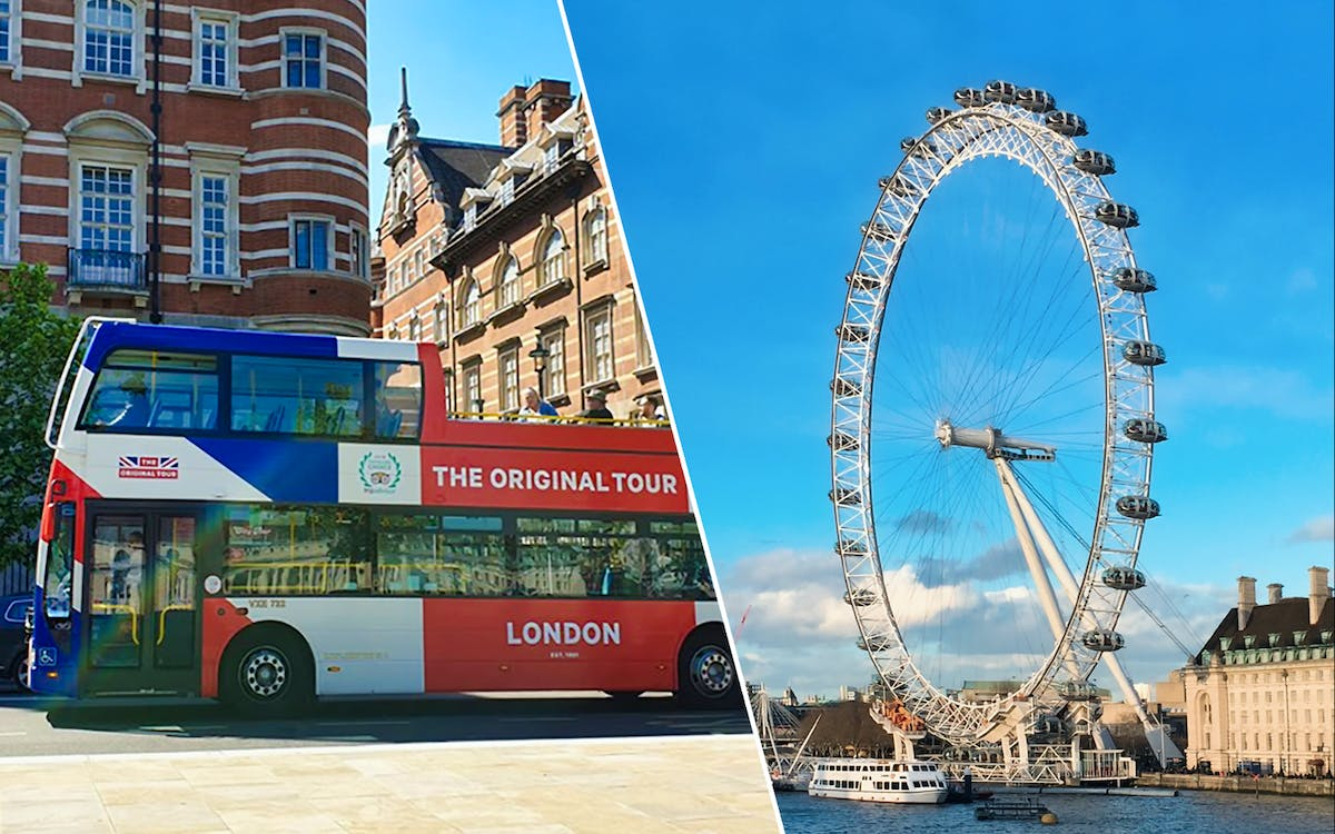 the original tour london 24hr pass + london eye tickets -1