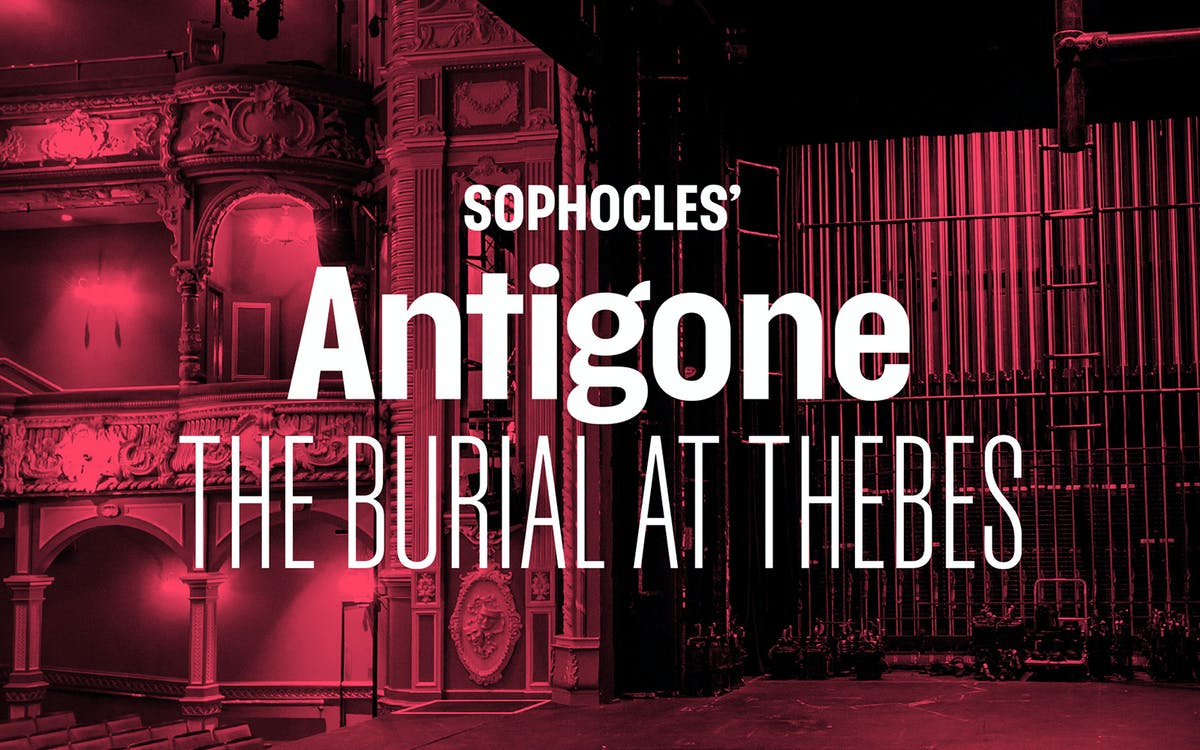 sophocles' antigone: the burial at thebes-1