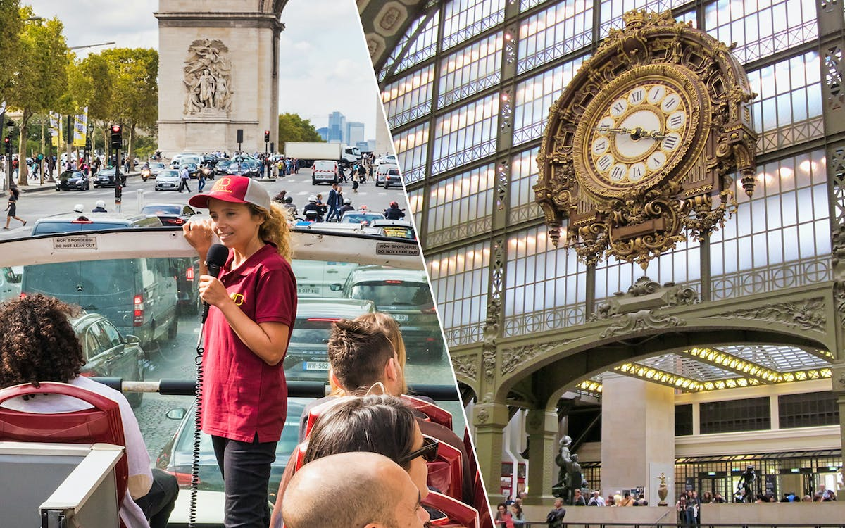 bigbus paris: hop-on-hop-off tour + orsay museum tickets-1