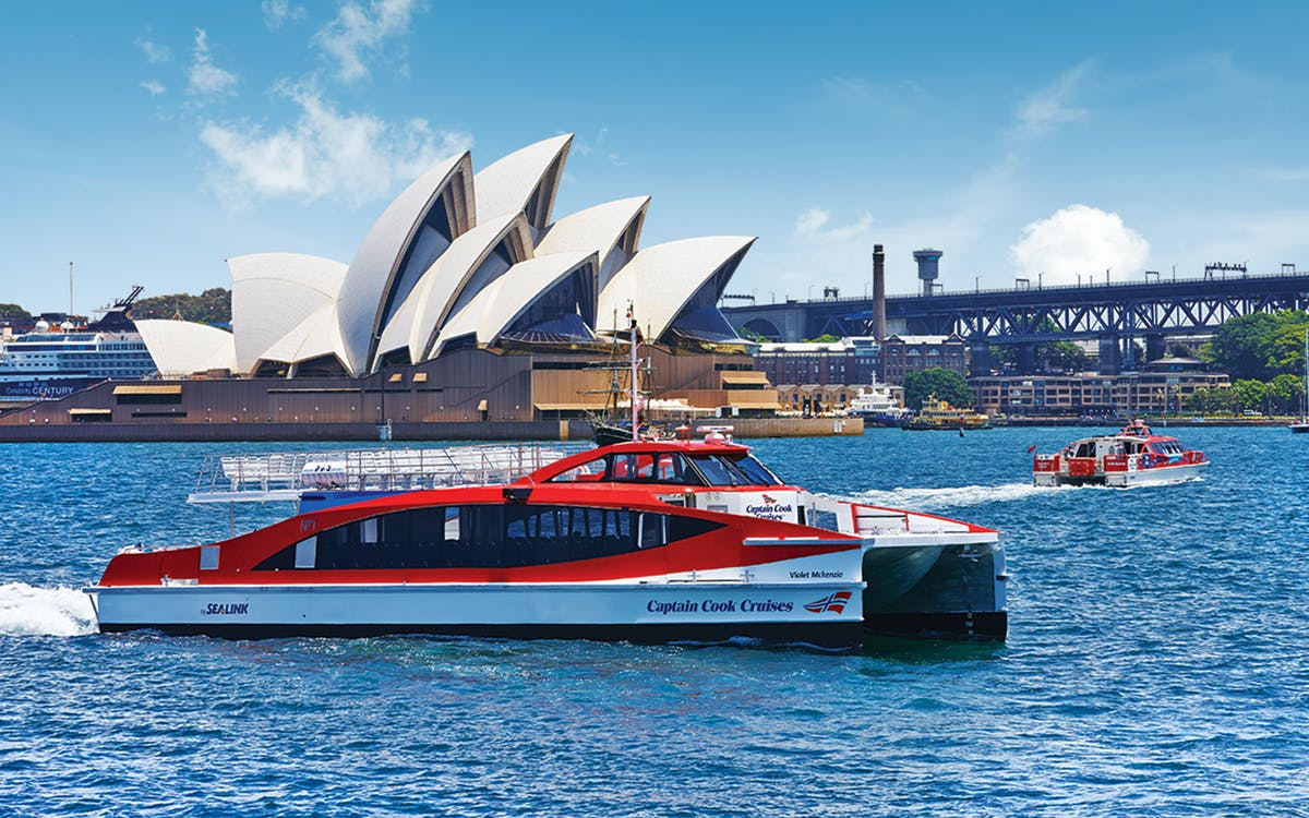 captain cook: 2 day sydney harbour hop-on-hop-off cruise -1