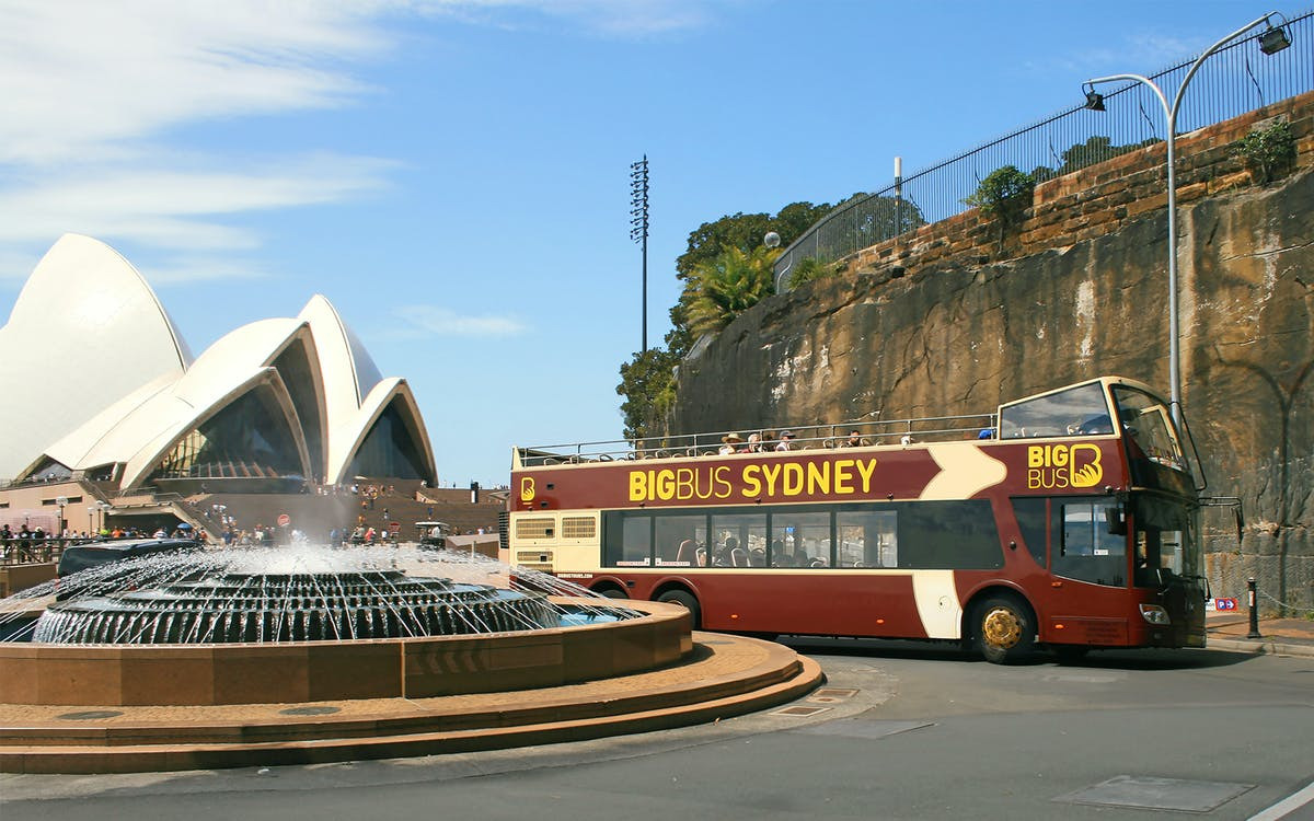 sydney hop-on-hop-off combo: big bus classic ticket + cruise-1