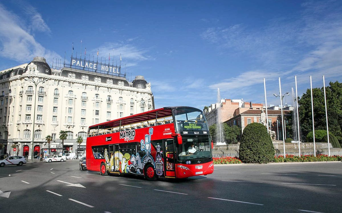 madrid city tour: 1 or 2 day hop-on-hop-off sightseeing bus-1