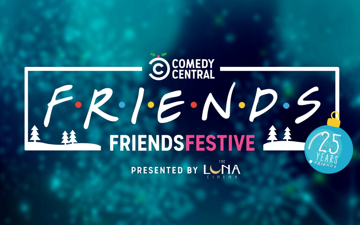 friends festive event tickets- celebrating 25 years of friends-1