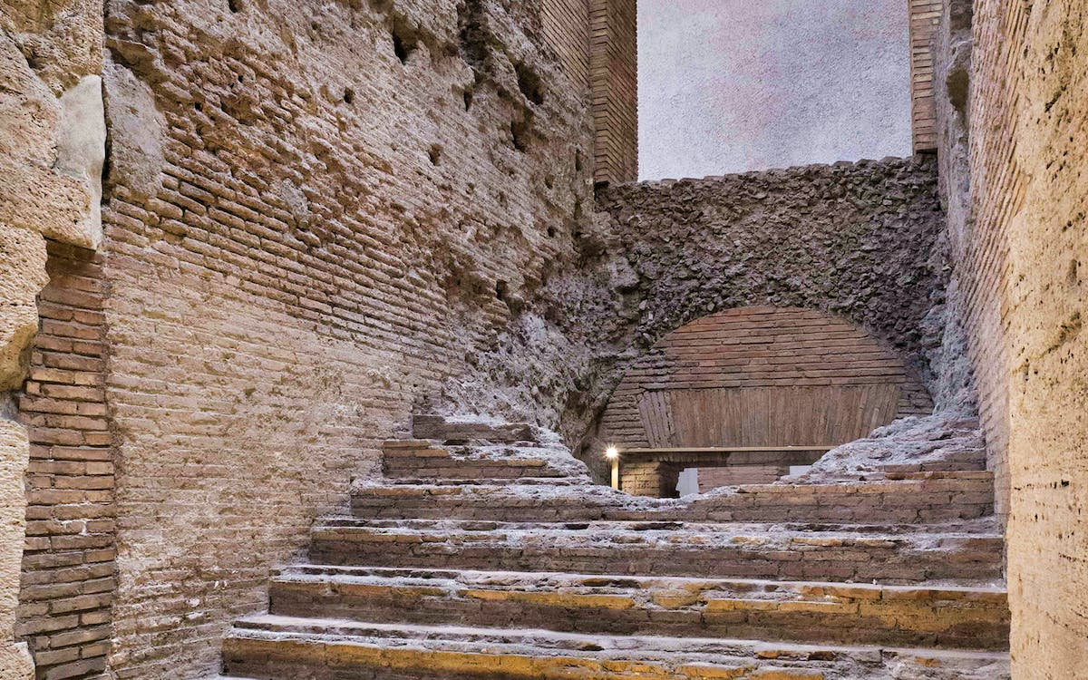 rome underground: stadium of domitian with audioguide-1