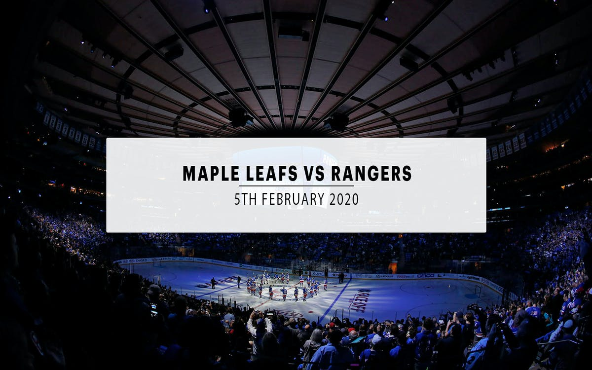 toronto maple leafs vs. new york rangers-1