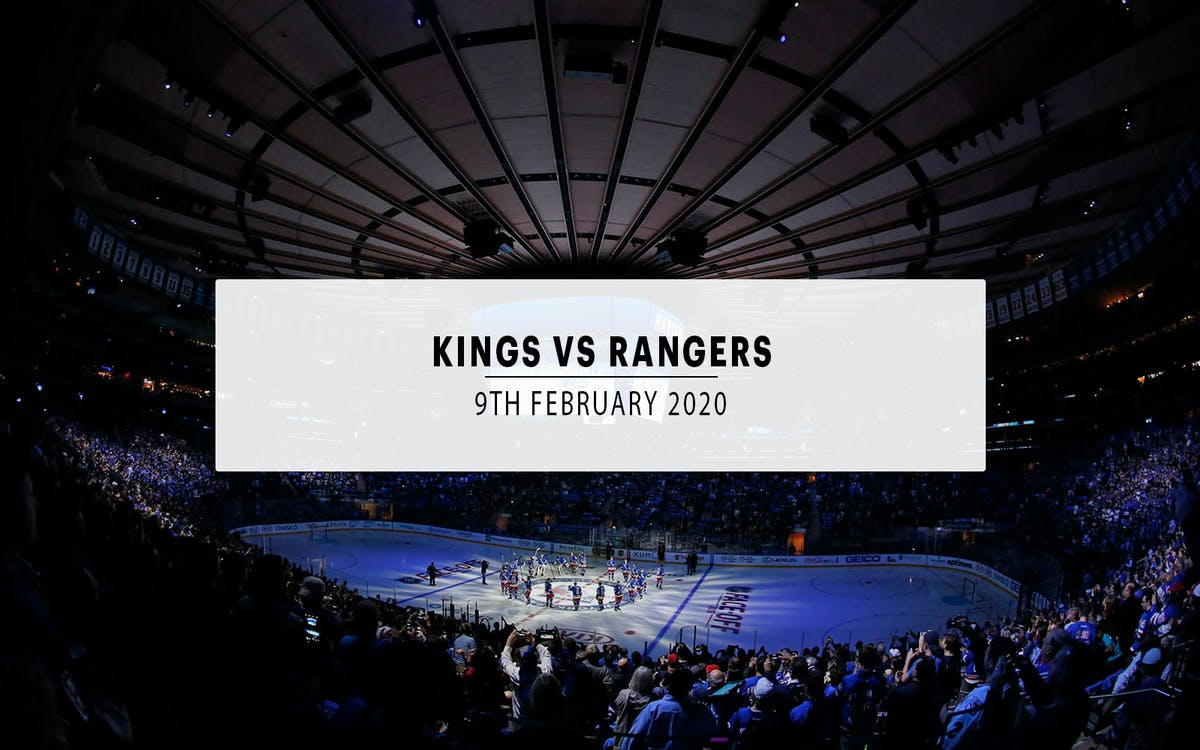 los angeles kings vs. new york rangers-1