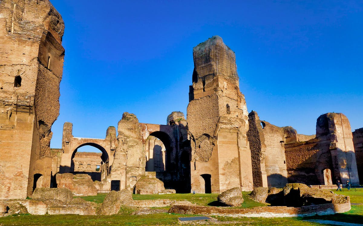 priority entrance tickets to the baths of caracalla-1
