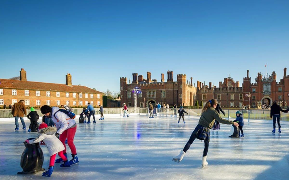 ice skating london: hampton court palace ice rink-0