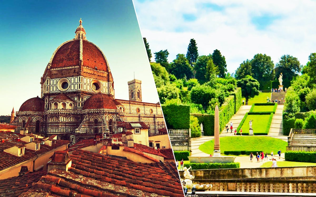 florence guided tour with medici's mile and admission to boboli gardens-1