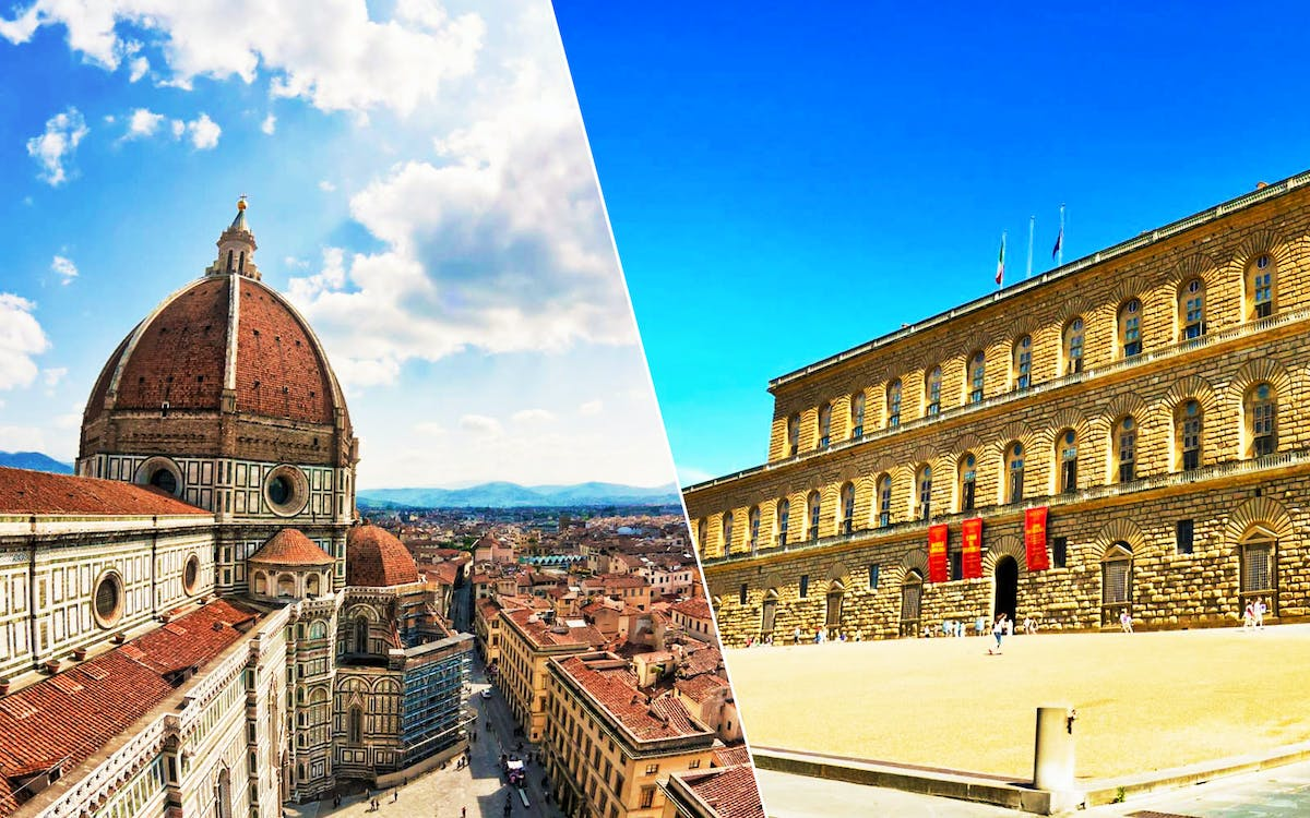 florence guided tour with medici's mile and admission to pitti palace-1