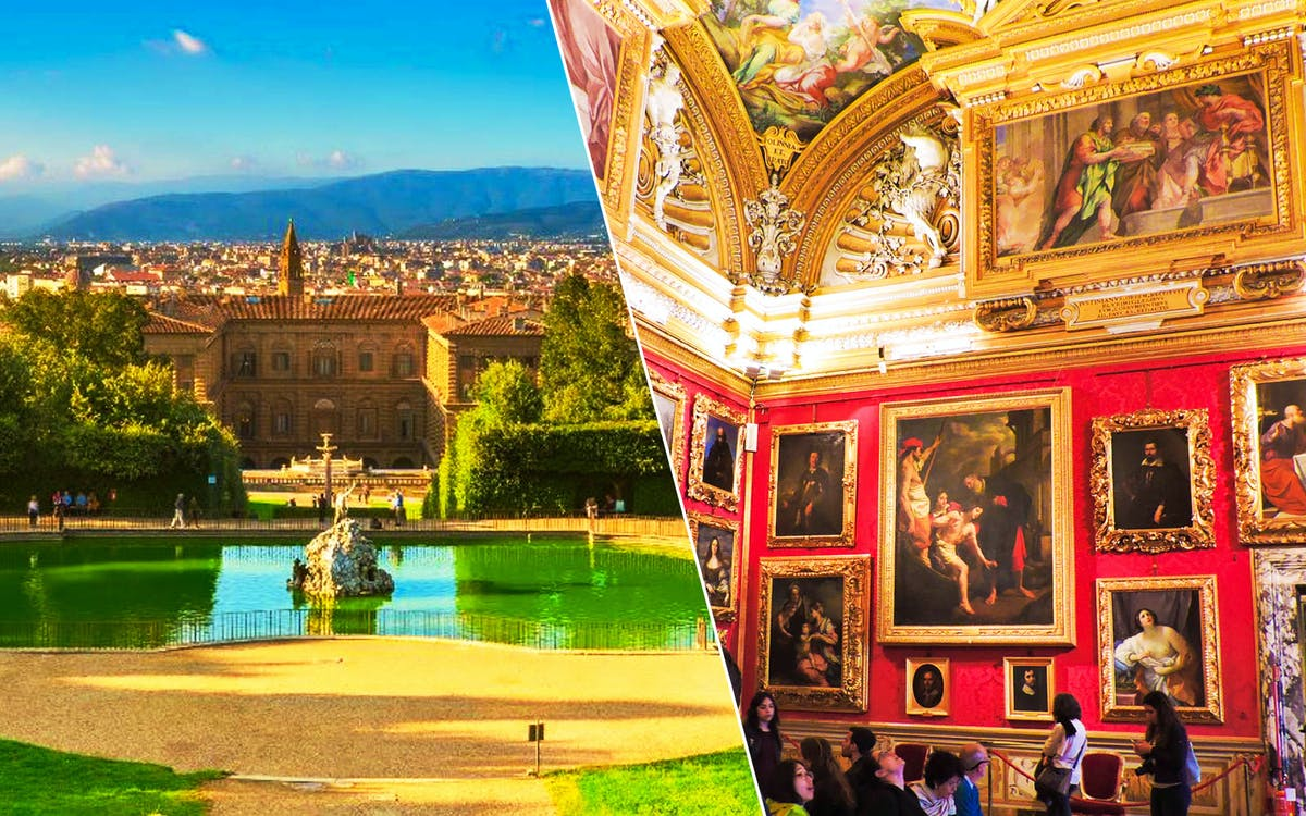 pitti palace and palatina gallery guided tour-1