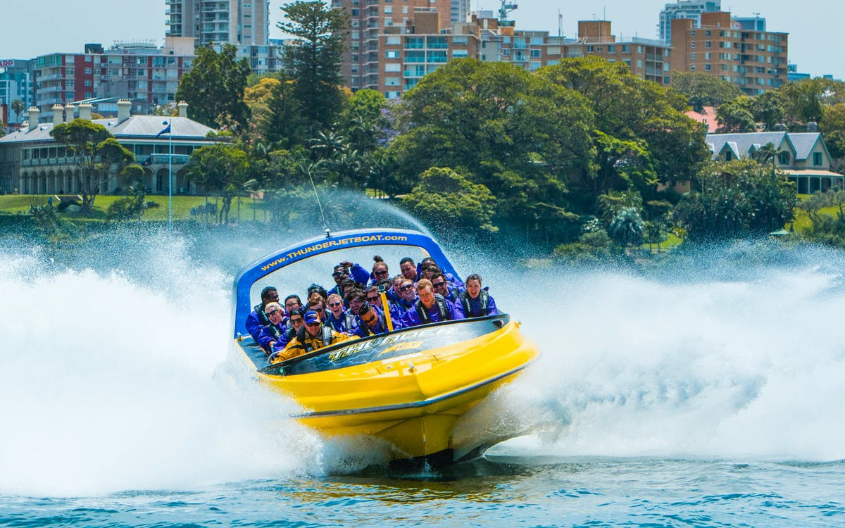 sydney harbour adventure: 50 minute experience -1