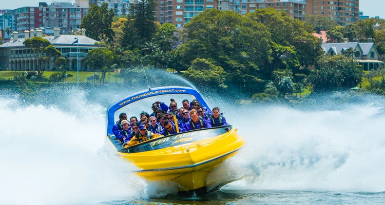 jet boat tour sydney
