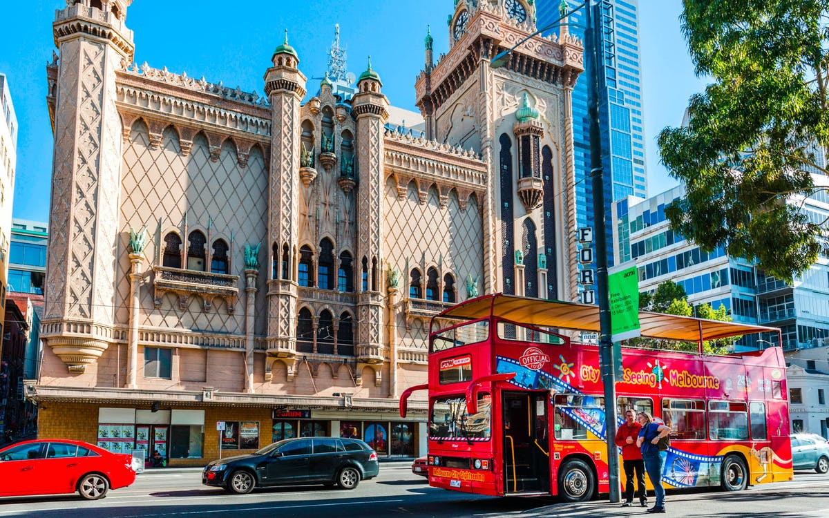city sightseeing melbourne: 24/48hr hop-on-hop-off tour -1