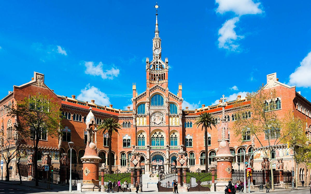 sant pau art noveau guided tour-1