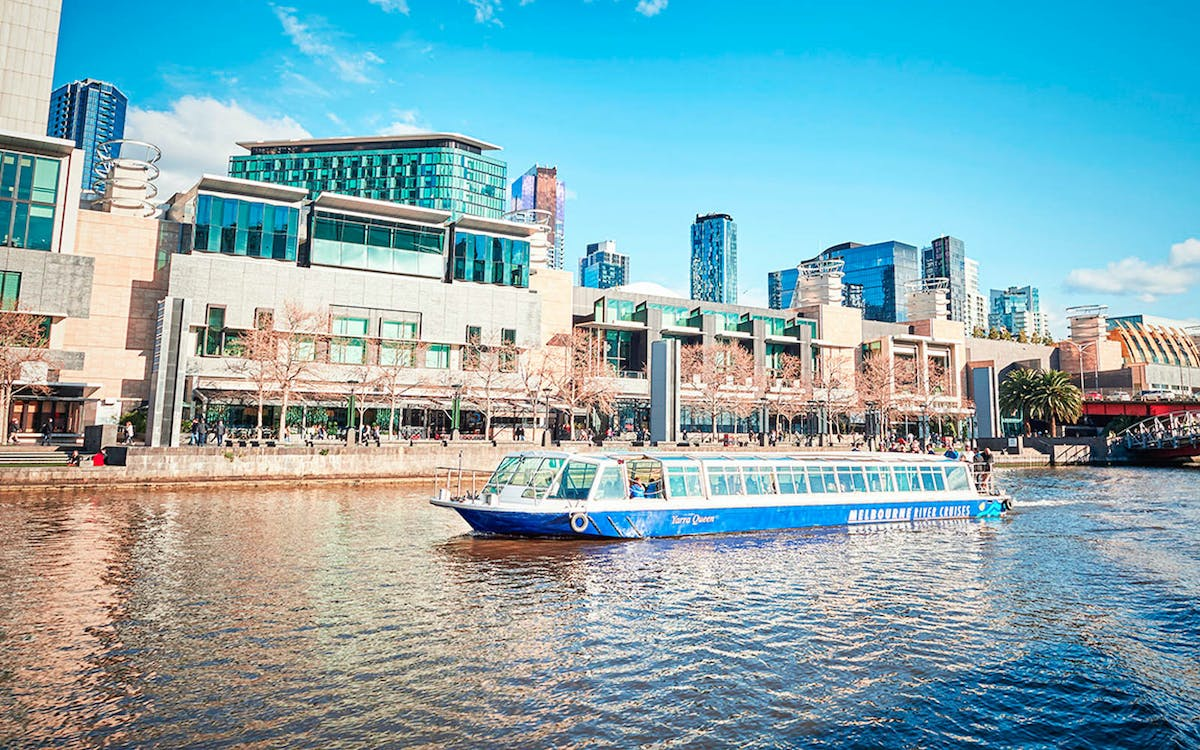 melbourne highlights: 2 hour river cruise -1