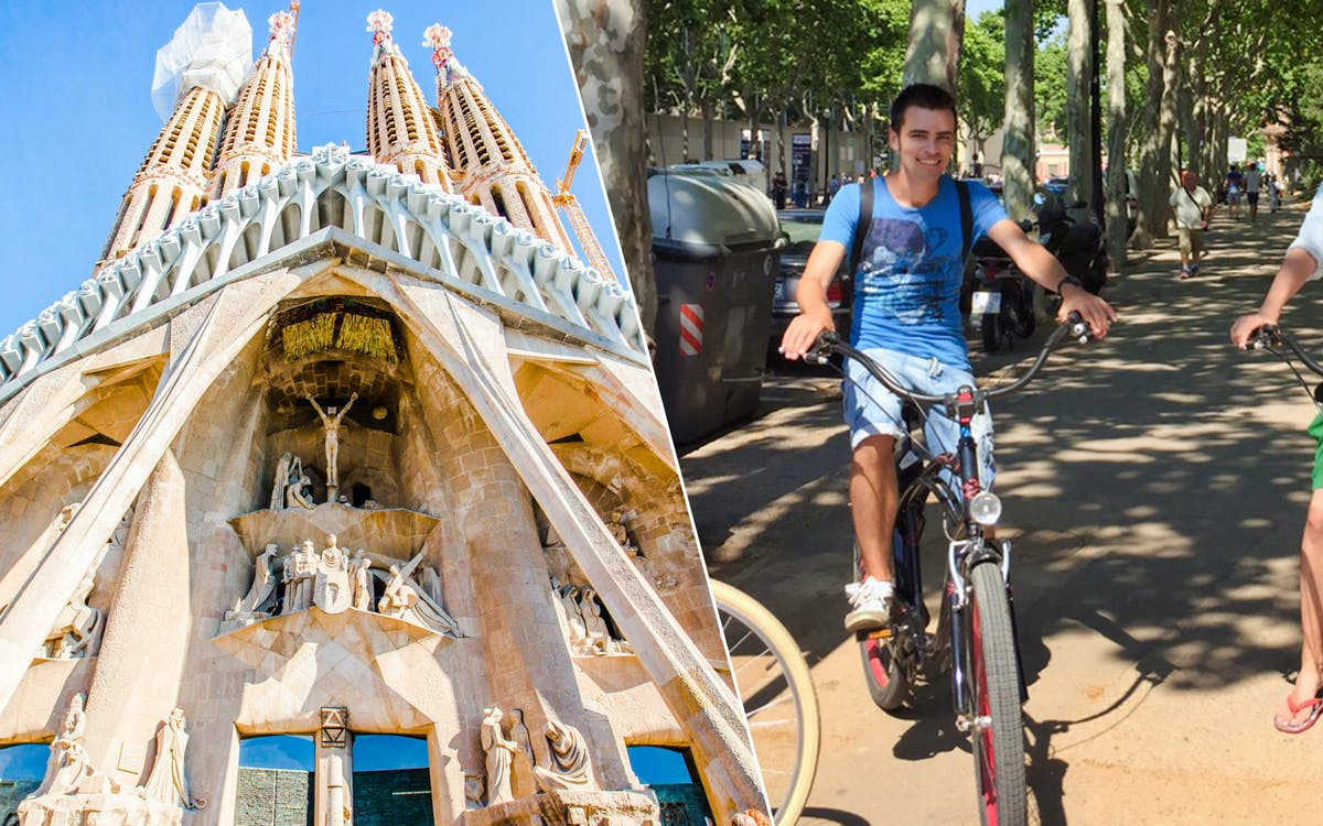 fast-track ticket to sagrada familia & barcelona ebike guided tour-1