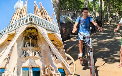 Fast-Track Ticket to Sagrada Familia & Barcelona eBike Guided Tour