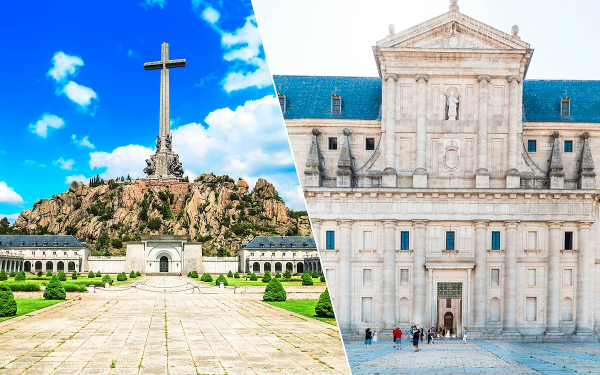 guided tour of royal monastery of el escorial and the valley of the fallen-1