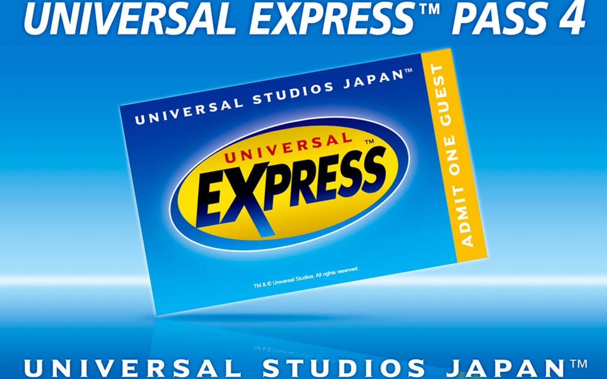 universal studios japan™ 1 day ticket + express™ pass 7-1