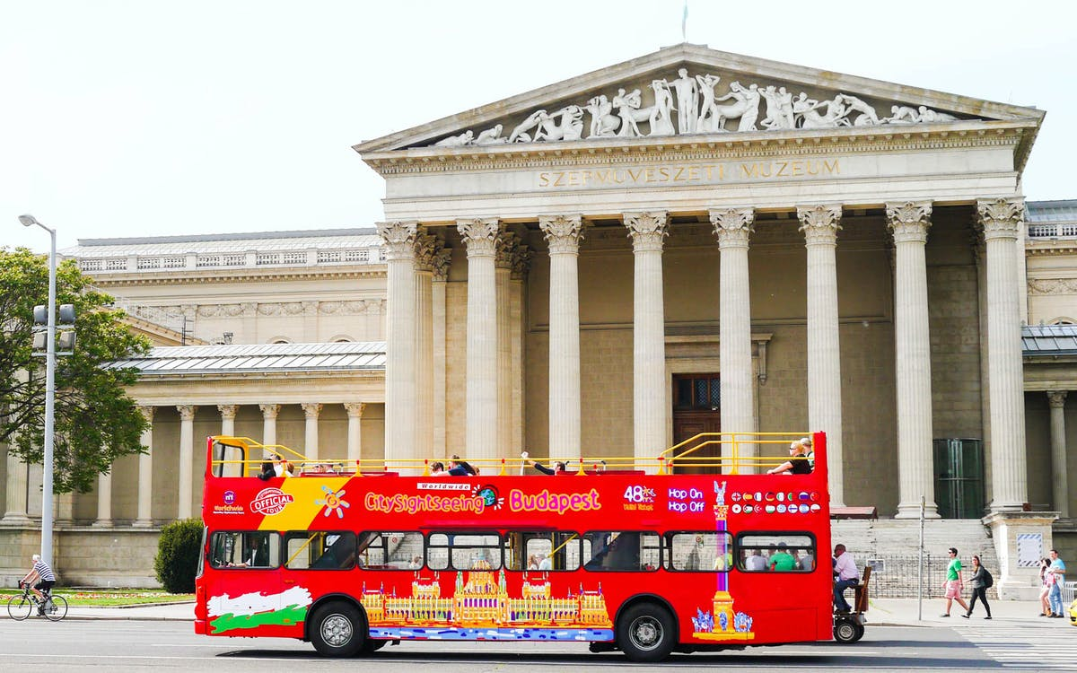 city sightseeing: hop on hop off bus with optional cruise & night tour-1