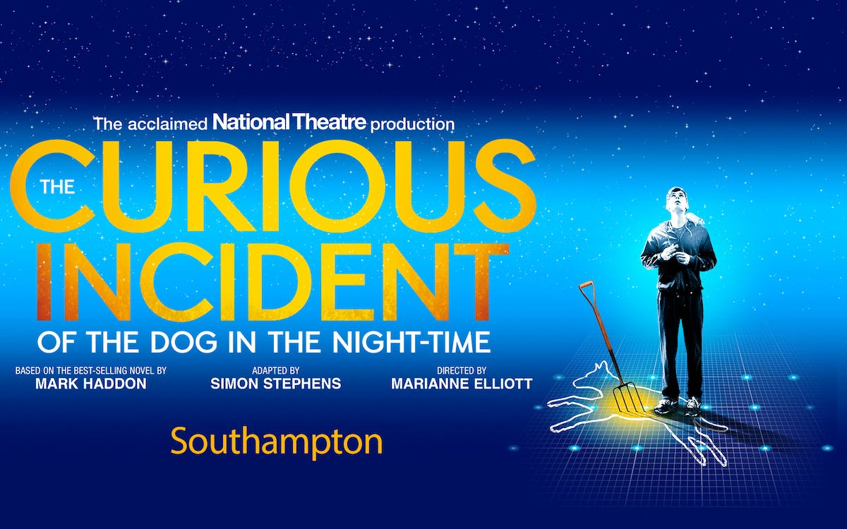 the curious incident of the dog in the night-time -  southampton-1