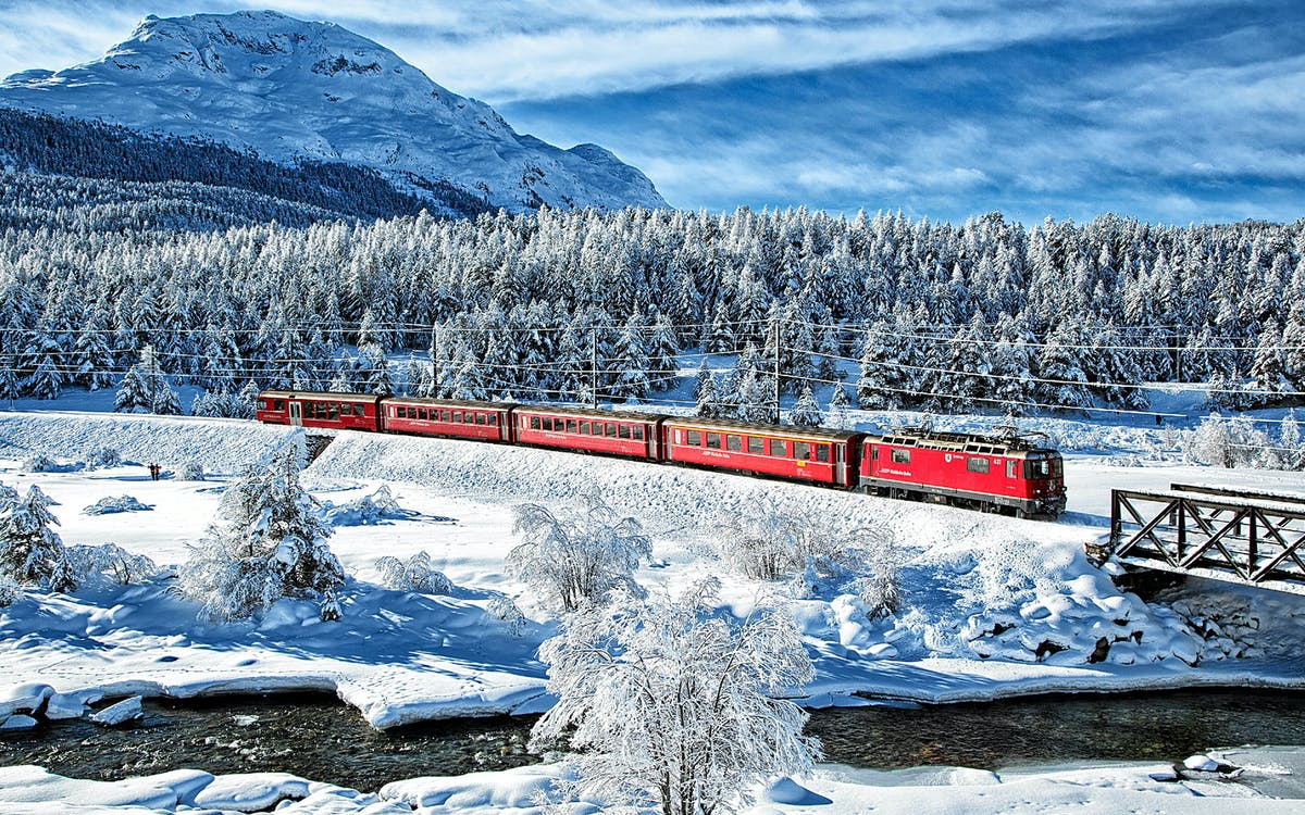 bernina express and st moritz full day tour -1