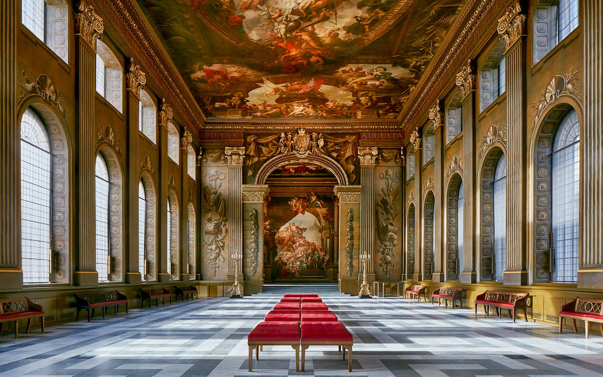 the old royal naval college painted hall-1