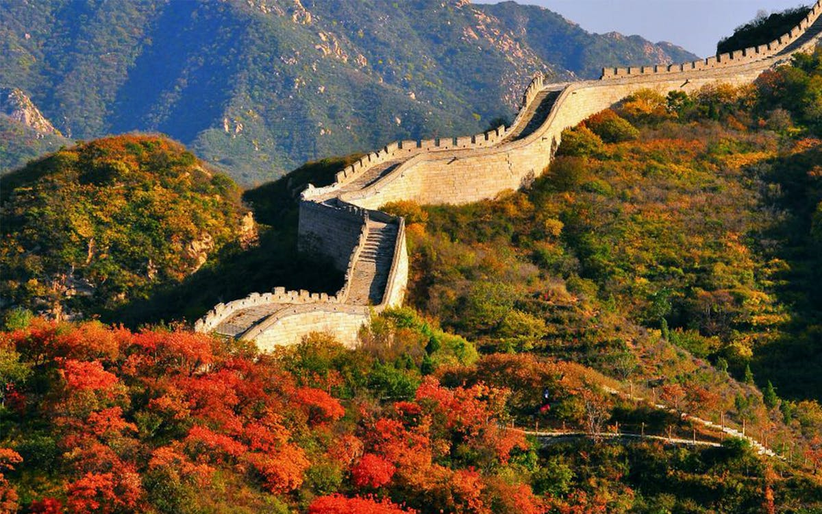 badaling great wall and dingling ming tombs bus tour from beijing-1