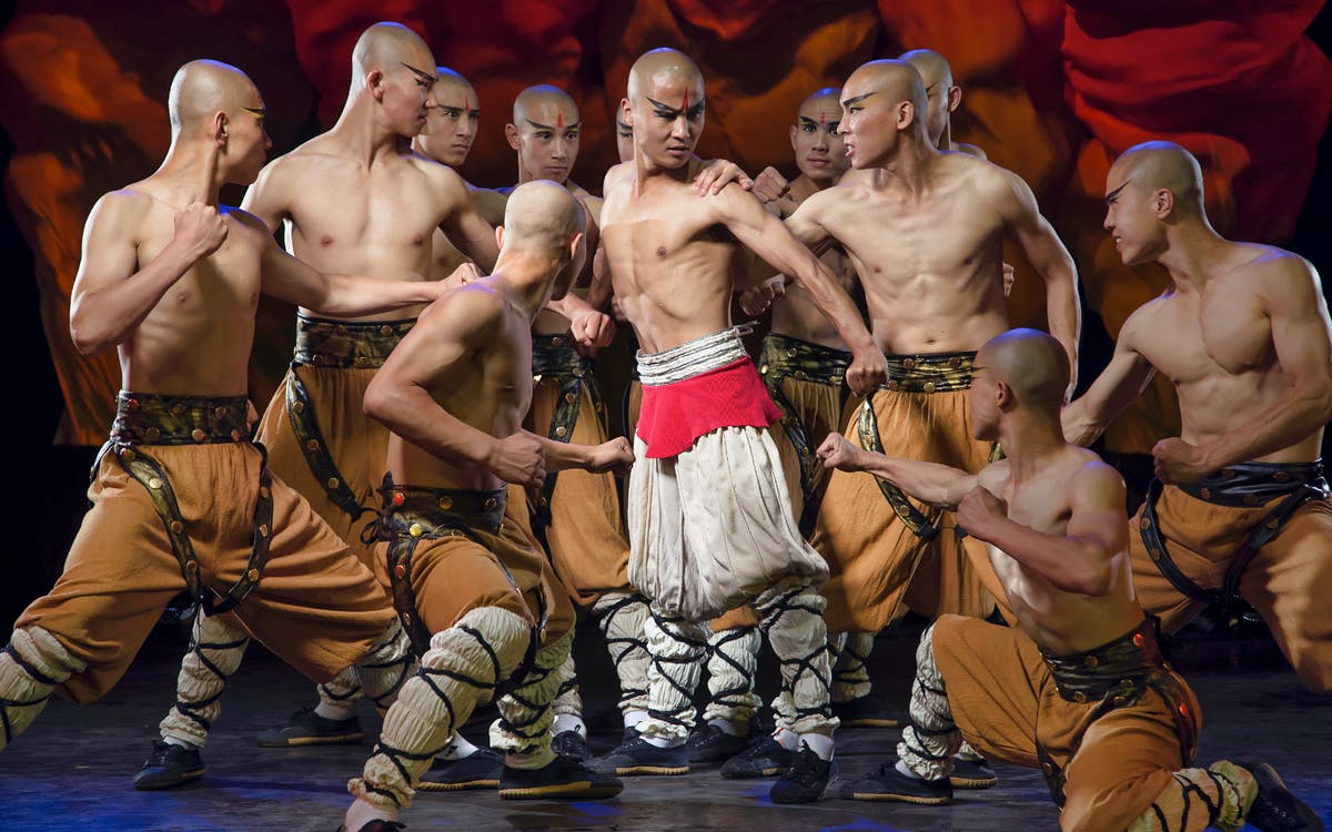 shaolin kungfu show tickets at beijing red theatre with optional transfers-1