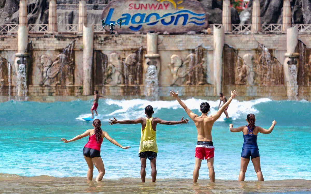 sunway lagoon theme park tickets with optional express pass-1
