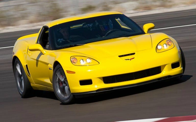 drive a supercar : corvette-1