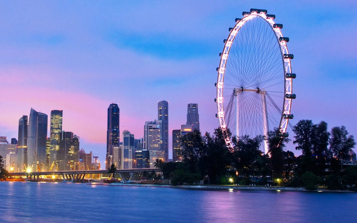 singapore flyer tickets with snack-1