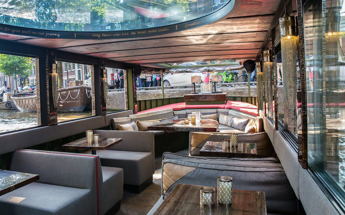 luxury canal cruise ticket - 1st drink included!-1