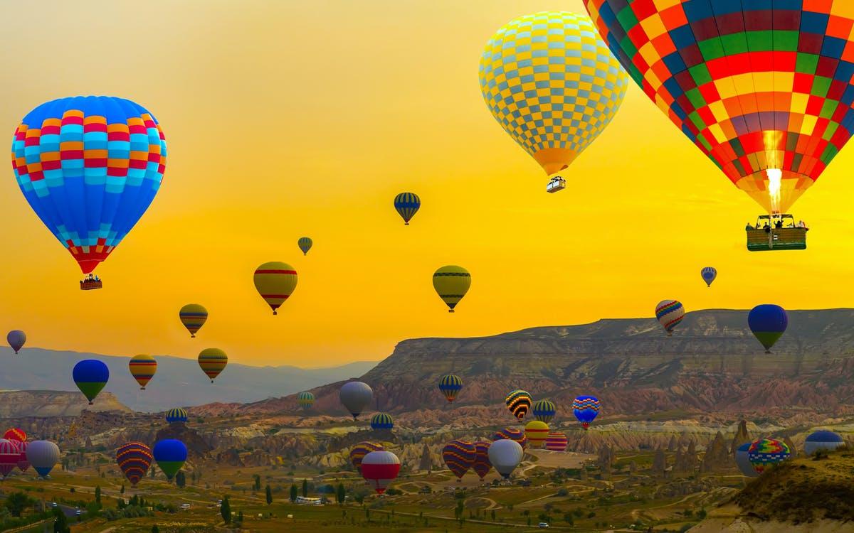 hot air balloon flight over the fairy chimneys-0