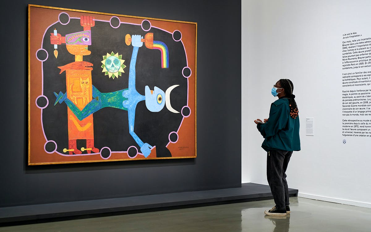 paris museum of modern art: victor brauner (1903-1966) since 1972-1