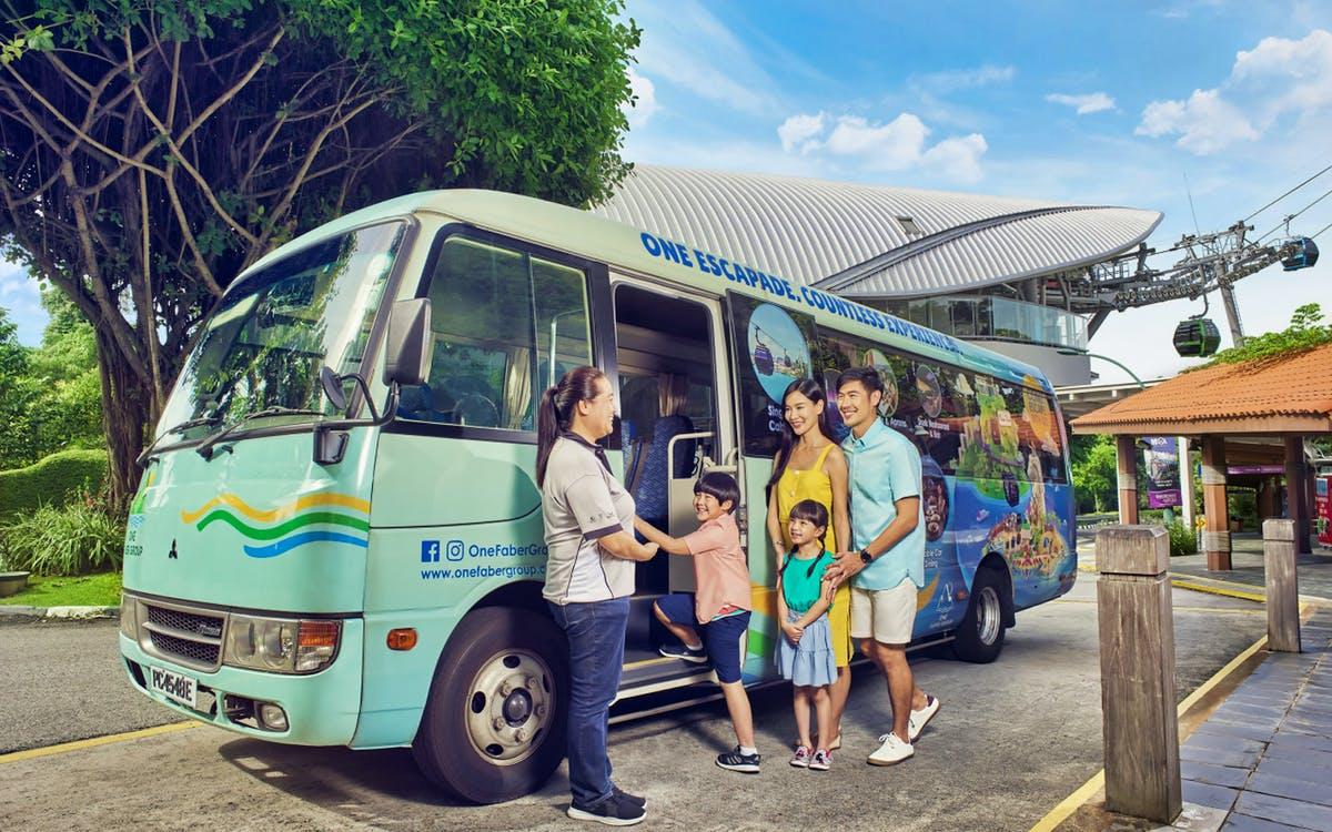 sentosa island guided bus tour-0