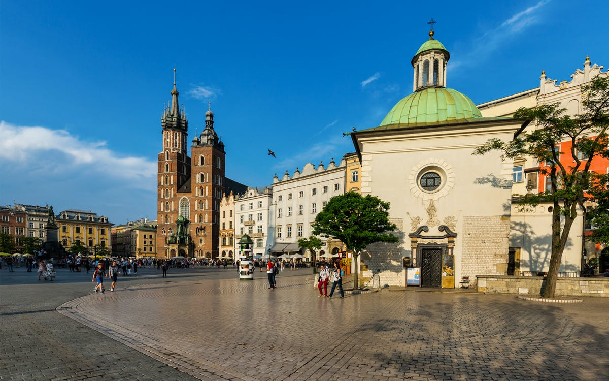 krakow: guided walking tour of old town-0