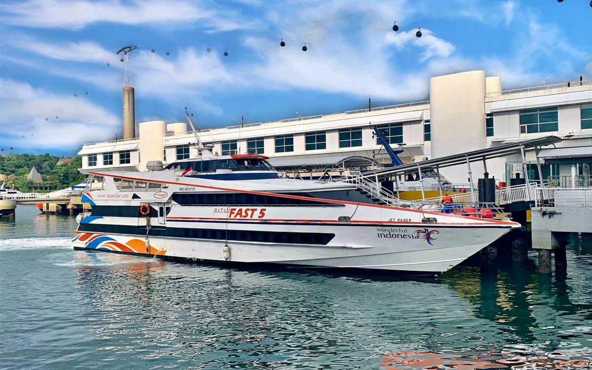 batam fast ferry single trip - sekupang to singapore harbourfront center -1