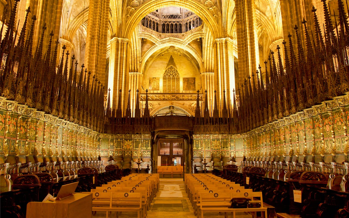 catedral of barcelona: admission ticket-1