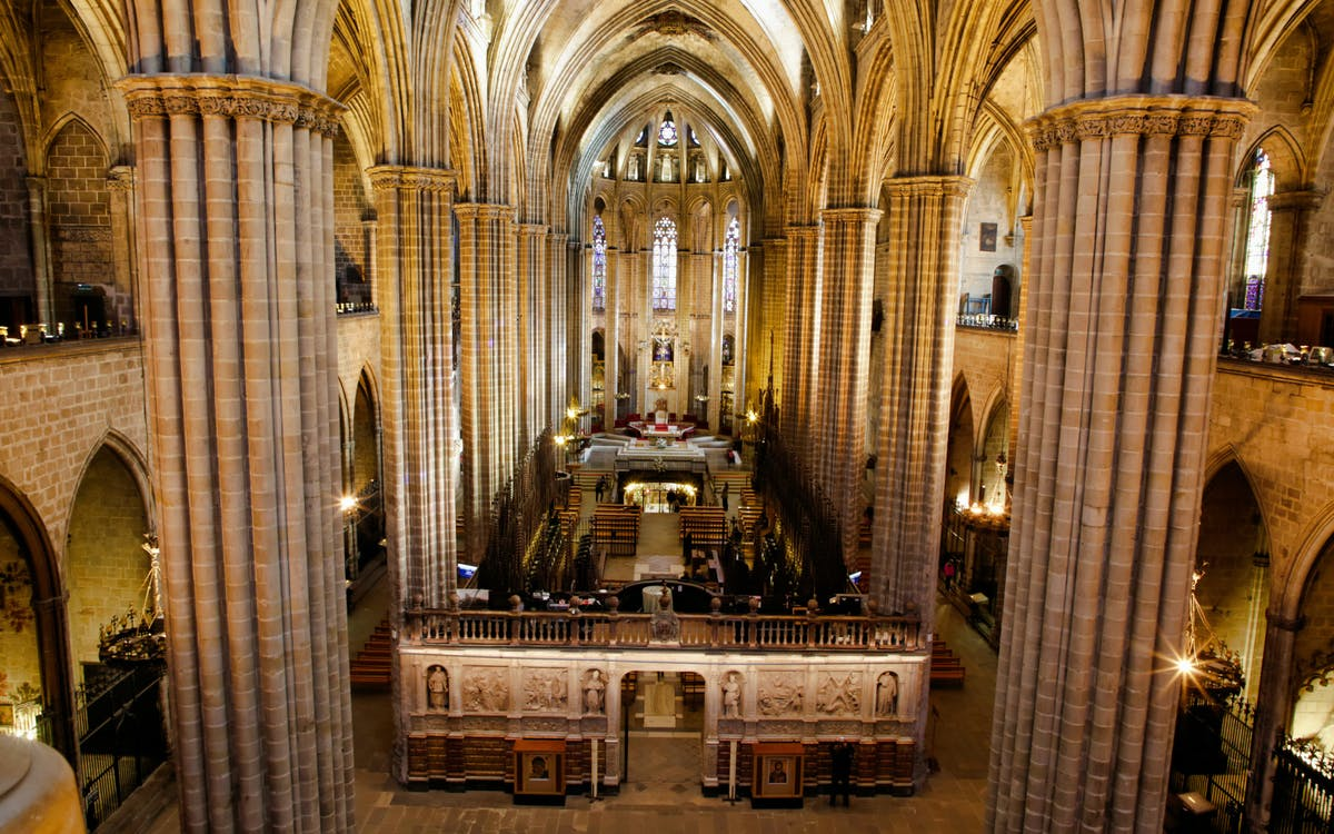 catedral of barcelona: admission ticket-0
