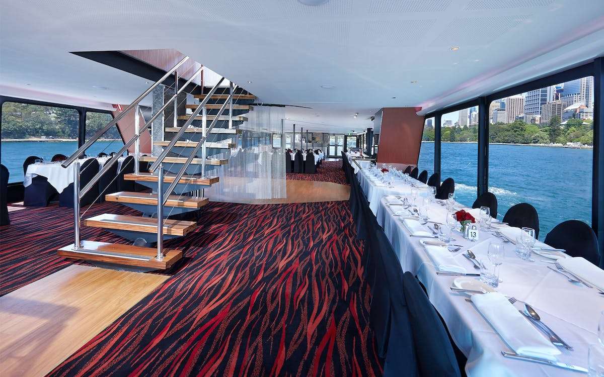 brilliant dinner cruise - 4 course with live music-1