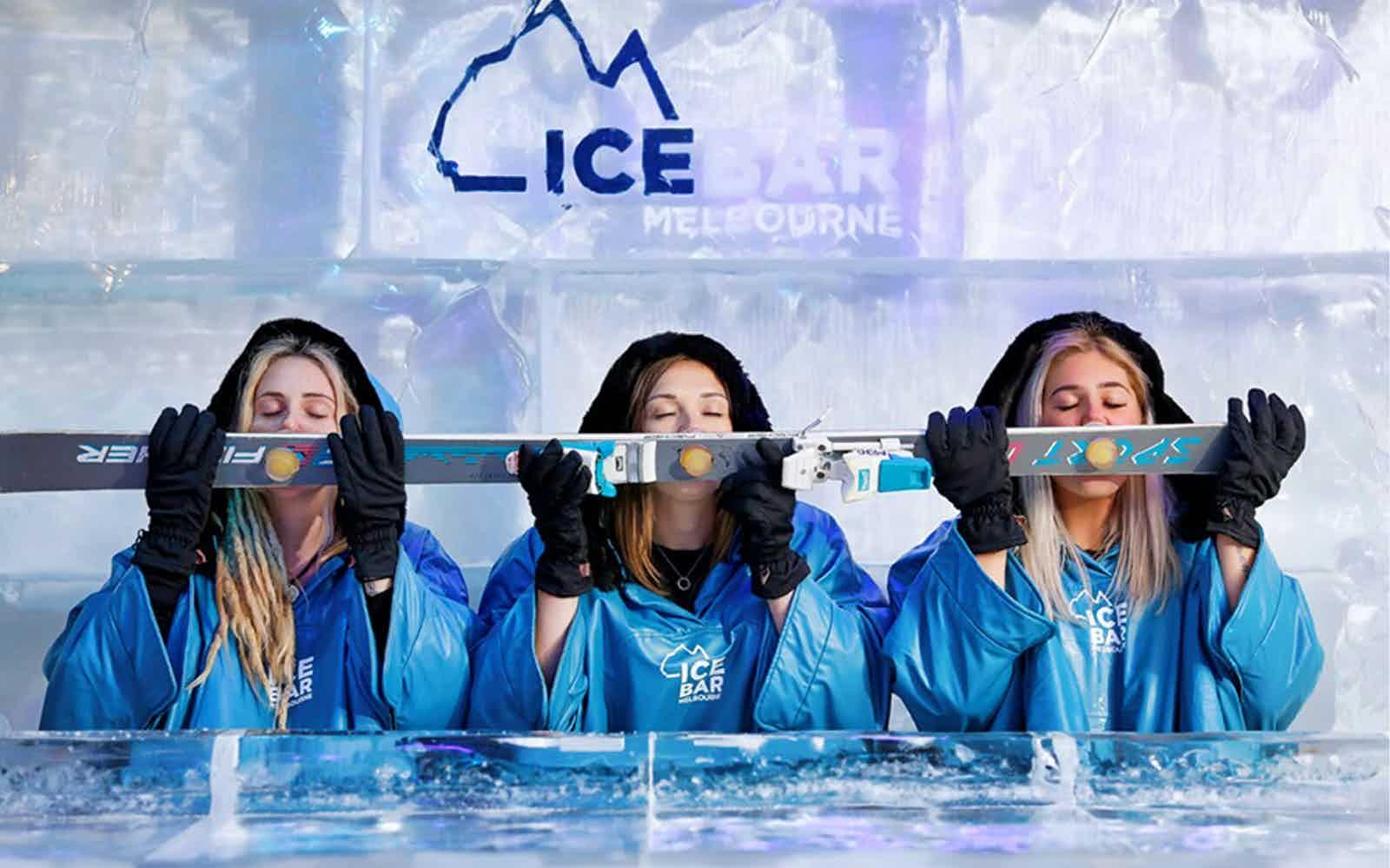 date ideas in Melbourne icebar